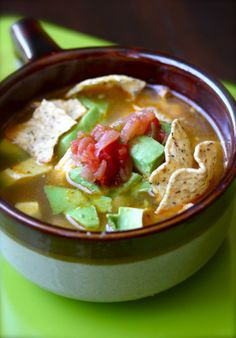 America's Test Kitchen Tortilla Soup