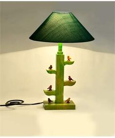 Tree of Life Lamp With Parrots | I found an amazing deal at fashionandyou.com and I bet you'll love it too. Check it out!