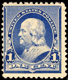 1 Cent 1890 93 Series United States Postage Stamp Perforated 12