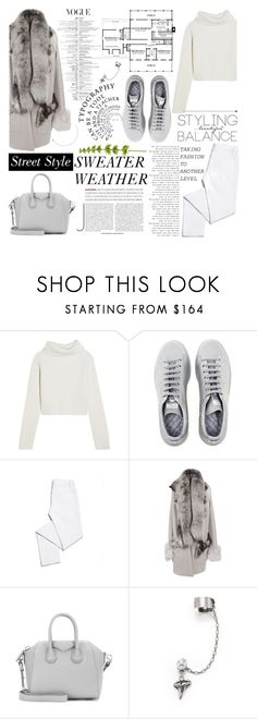 """""""nº 89   Sweater Weather"""" by ss-080 ❤ liked on Polyvore featuring Haider Ackermann, Raf Simons, Tory Burch, If Six Was Nine, Givenchy and DANNIJO"""