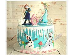 Disney - frozen cake - ledové království