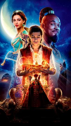 High resolution official theatrical movie poster ( of for Aladdin Image dimensions: 1500 x Directed by Guy Ritchie. Starring Naomi Scott, Will Smith Aladdin Film, Disney Aladdin, Watch Aladdin, Disney Fan, Aladdin Game, Disney Jasmine, Naomi Scott, Will Smith, Movie Posters
