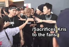 Chanyeol be like HYUNG WE'LL REMEMBER YOUR BRAVERY FOREVER