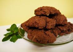 Vegan Chocolate Mint Cookies  - A Vegan Blogging Extravaganza at The Flaming Vegan