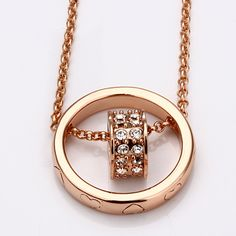 #Tazmeen                  #ring                     #Double #Ring #Karat #Gold #Plated #Necklace        Double Ring 18 Karat Gold Plated Necklace                                     http://www.seapai.com/product.aspx?PID=271025