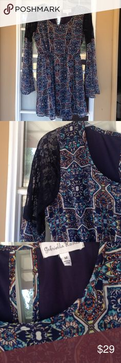 Spotted while shopping on Poshmark: Boho Lace Sleeve Dress! #poshmark #fashion #shopping #style #Gabriella Rocha #Dresses & Skirts