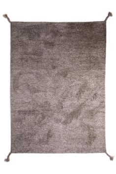 Woodnotes' hand knotted wool carpet Uni col. light grey