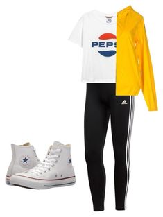 """""""Untitled #12"""" by ivylai07 on Polyvore featuring adidas, Invicta and Converse"""