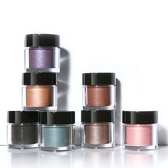 Youngblood Crushed Mineral Eyeshadow      Made from 100% pure minerals, these loose shadows give eyes an instant dose of color and brightness. Use them dry for a subtly elegant look, or wet for a boldly radiant effect. Concentrated so a little sprinkle goes a long way!