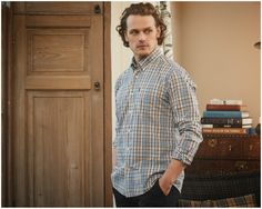 NEW Photoshoot Featuring Sam Heughan from Barbour | Outlander Online