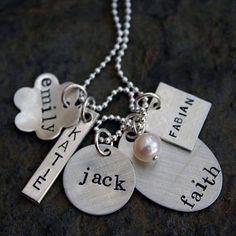 stamped jewelery