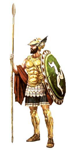 Galenos of Pherae, Greek style hero for New Broken Lands