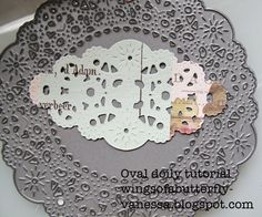 wings of a butterfly: Oval Doily Tutorial - Bon Voyage