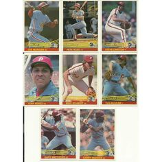 1984 Donruss PHILLIES team set 24 cards MT to GM Out of Shrinkwrap! 4 HOFers! Listing in the 1980-1989,Sets,MLB,Baseball,Sports Cards,Sport Memorabilia & Cards Category on eBid United States   147610018