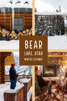 Bear Lake, Utah Winter Weekend Getaway [Best Winter Activities] -Find out what to do in Bear Lake Utah in winter! Bear Lake is on the Utah-Idaho border and has plenty of winter activities for a Winter Weekend Getaways, Romantic Weekend Getaways, Weekend Trips, Best Winter Destinations, Travel Destinations, New Travel, Travel Usa, Vacation Travel, Dream Vacations
