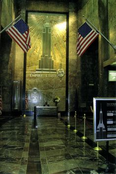 Lobby Of Empire State Building New York City Laurie Leal #newyork, #NYC, #pinsland, https://apps.facebook.com/yangutu
