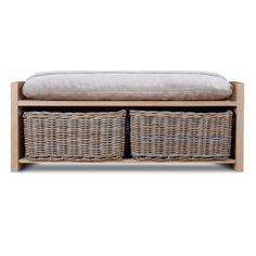 10 Charming Wicker Storage Bench Images Designer