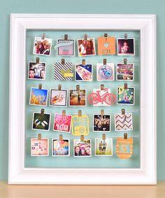 Photo Frame & Advent Calendar