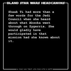 #blandstarwarsheadcanons I'd watch that!