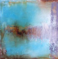 Abstract acrylic painting on canvas.Part of the 19th Century Series.Great complimentary colours, fantastic decorator's piece.Signed, original artwork.Size 60 x 60 x 3 cm / 24 x 24 x 1 inches.Painted edges, ready to hang.Wrapped securely in bubble ...