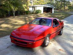 1988 Dodge Daytona Turbo IROC.  Mine was black. Fast as hell!!!