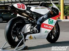 Pit Pass: Marco Simoncelli's Gilera RSA250 - Last of the Breed | Sport Rider
