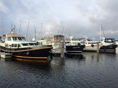 """Sixpack"" of Linssen Yachts in Marina Port Zélande"