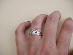 2 Piece Crown Ring - Sterling Silver