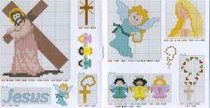 Fabinha Gráficos Para Bordados: Religiosos