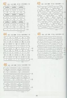 Arquivos 262 pontos de crochê - tejidos - Álbumes web de Picasa