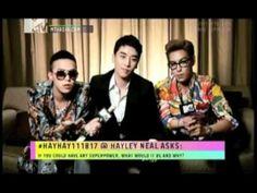 Big Bang's G-Dragon Speaking English.