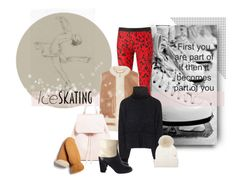 """""""Joy of Skating"""" by michelletheaflack ❤ liked on Polyvore featuring FAUSTO PUGLISI, Tory Burch, Chloé, Woolrich, Chanel, FRR, polyvorecontest and iceskatingstyle"""