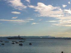 morning in Pozzarello bay, the sky after the rain #maremma #tuscany #argentario