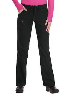 e8c1abae8e9 KOI Lite Women's Peace Drawstring Scrub Pant X-Large Petite Black - Every  day something new