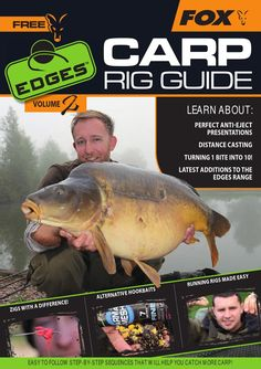 Following the huge success of last year's first-ever Edges Carp Rig Guide we are pleased to welcome you to volume 2! Over the past year we have been inundated with emails and feedback from anglers across Europe who have caught personal bests and had best-ever sessions thanks to the knowledge they gained from volume 1.