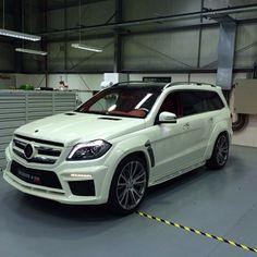 Mercedes-Benz GL Brabus Widestar with Brabus Fire Red Fine Leather Interior