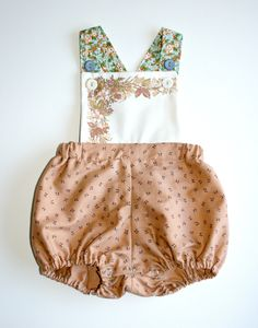 SALE+LAST+ONE.+girls+vintage+sunsuit.+size+by+pokettoclothing,+$28.00