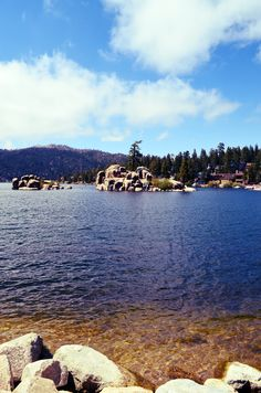 Boulder Bay is breath-taking any time of the year - Big Bear Lake, CA http://info.bigbearlp.com/big-bear-lakefront-cabins
