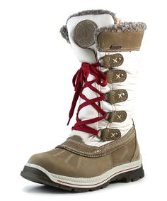 Another great find on #zulily! Santana of Canada Subtle Ice Mulino Leather Boot by Santana of Canada #zulilyfinds