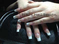 French Manicure Nailbed extension