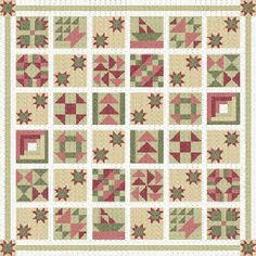 Old Favorites block of Month
