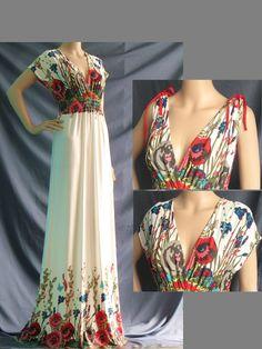 Plus Size Dress/ Maxi Dress Women Plus Size Clothing by myuniverse, $55.00