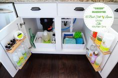 Undersink Kitchen Cabinet Organization