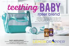 Young living teething baby roller blend Babies inquiring the development method square measure in an … Essential Oils For Teething, Essential Oils For Babies, Therapeutic Essential Oils, Organic Essential Oils, Essential Oil Uses, Young Living Essential Oils, Essential Oil Diffuser, Young Living Baby, Young Living Oils