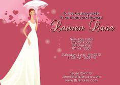 Custom Bridal Shower Invitations by itsJenuine on Etsy, $10.00