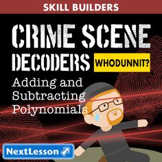 Nothing like a good criminal investigation to liven up math class! Based off of the popular Crime Scene Decoder lessons, there are now Crime Scene Decoder - Skill Builders. The Skill Builders plan to focus on single content topics as opposed to units and will focus more on skill building than application. Every day can't be a project day, so Skill Builders can be an engaging out of their seat activity to practice important skills. In a Skill Builder, students will work in teams to solve ...