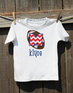 Personalized Ole Miss Rebels Football T-shirt or Onesie on Etsy, $22.95