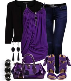 """""""The Purp"""" by mssgibbs on Polyvore"""