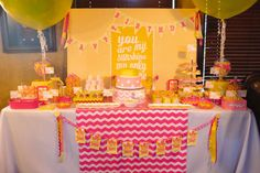 You Are My Sunshine Birthday Party Ideas | Photo 10 of 79 | Catch My Party