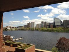 At a closing in #Cambridge View of #Boston